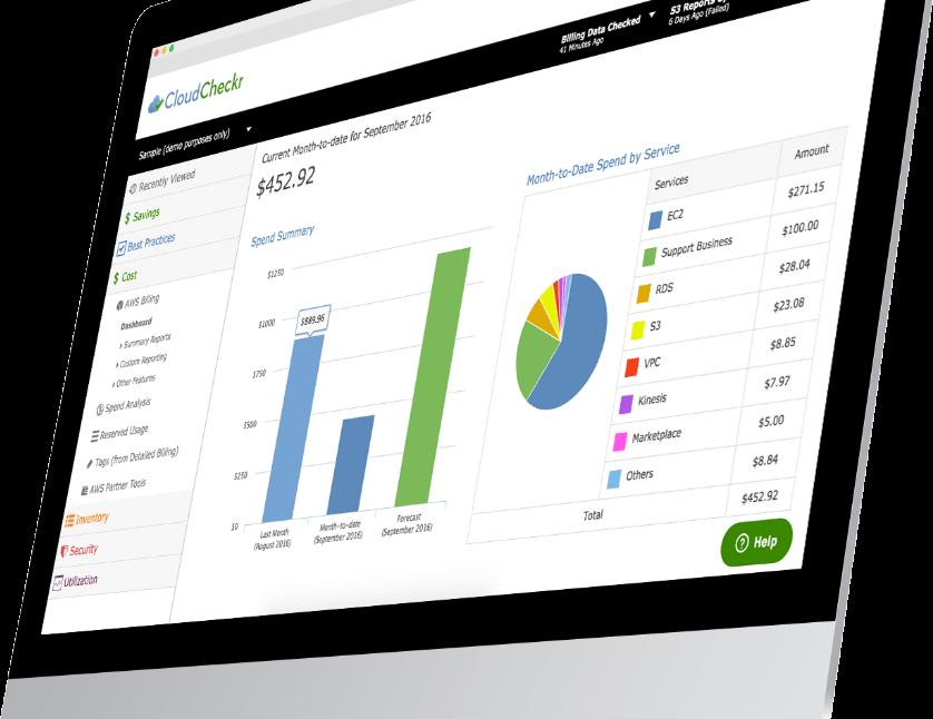 AWS Cloud Management from CloudCheckr