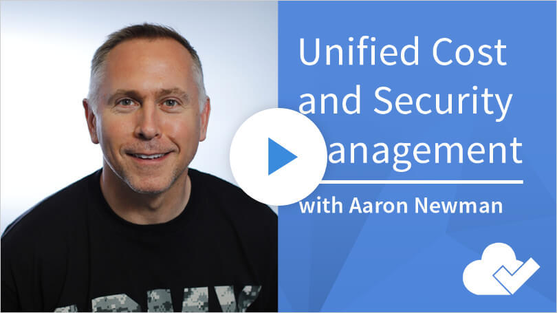 Unified Cost and Security for the Cloud