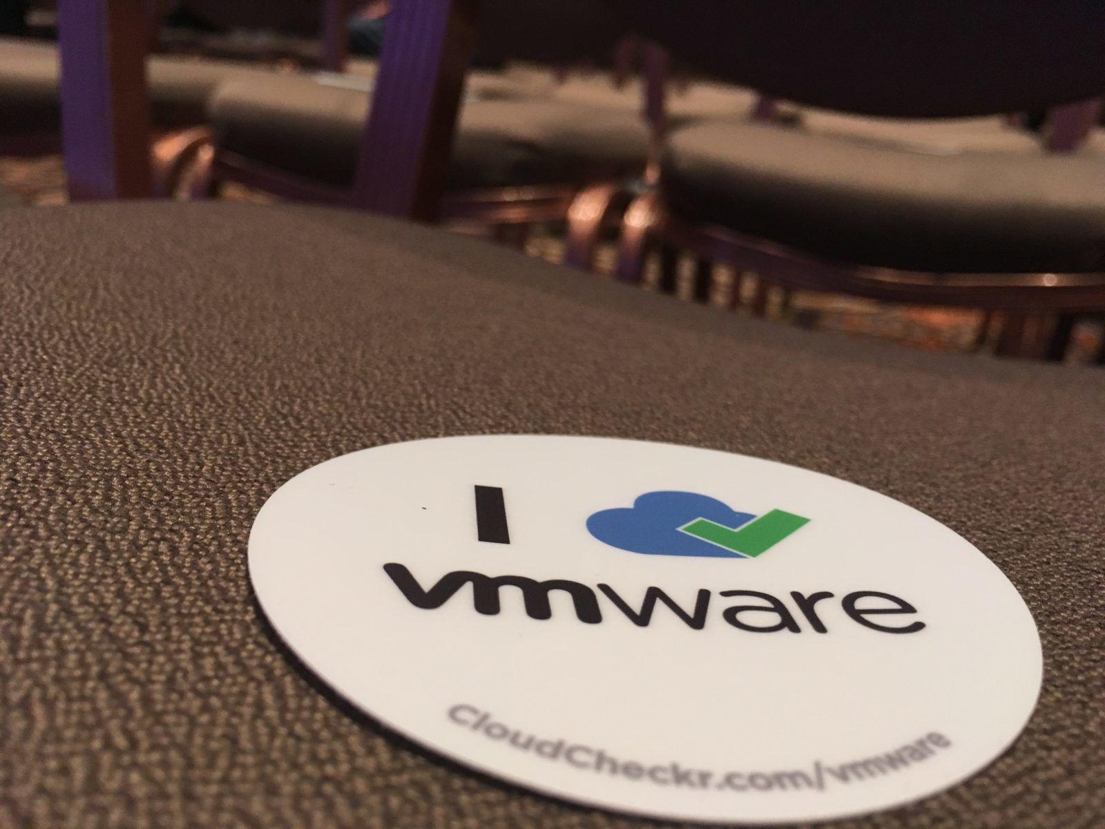 VMware sticker