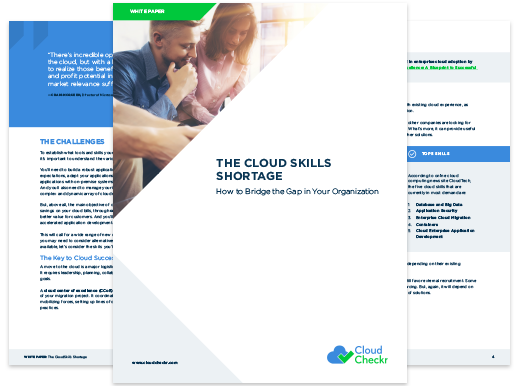 cloud skills shortage cloudcheckr
